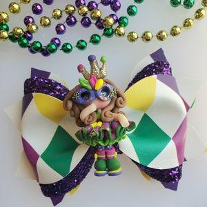 Mardi Gras Bow